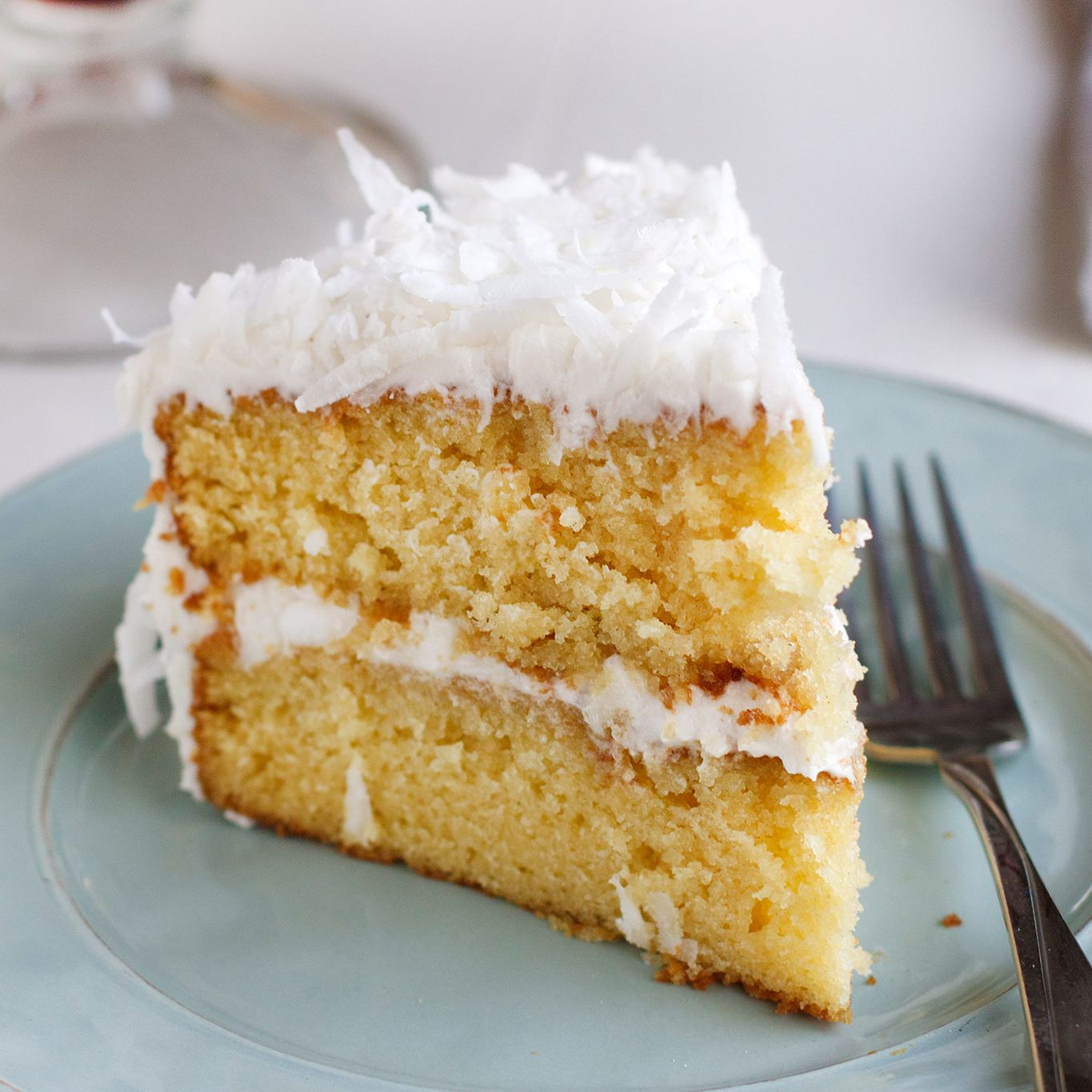 Old-Fashioned Fresh Coconut Cake