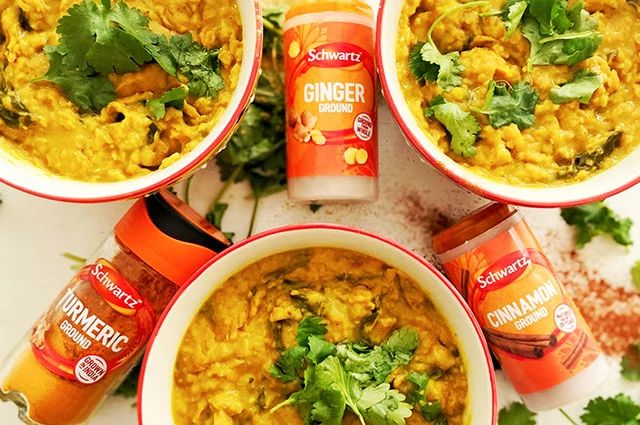 Butternut Squash Ginger And Turmeric Lentil Dhal