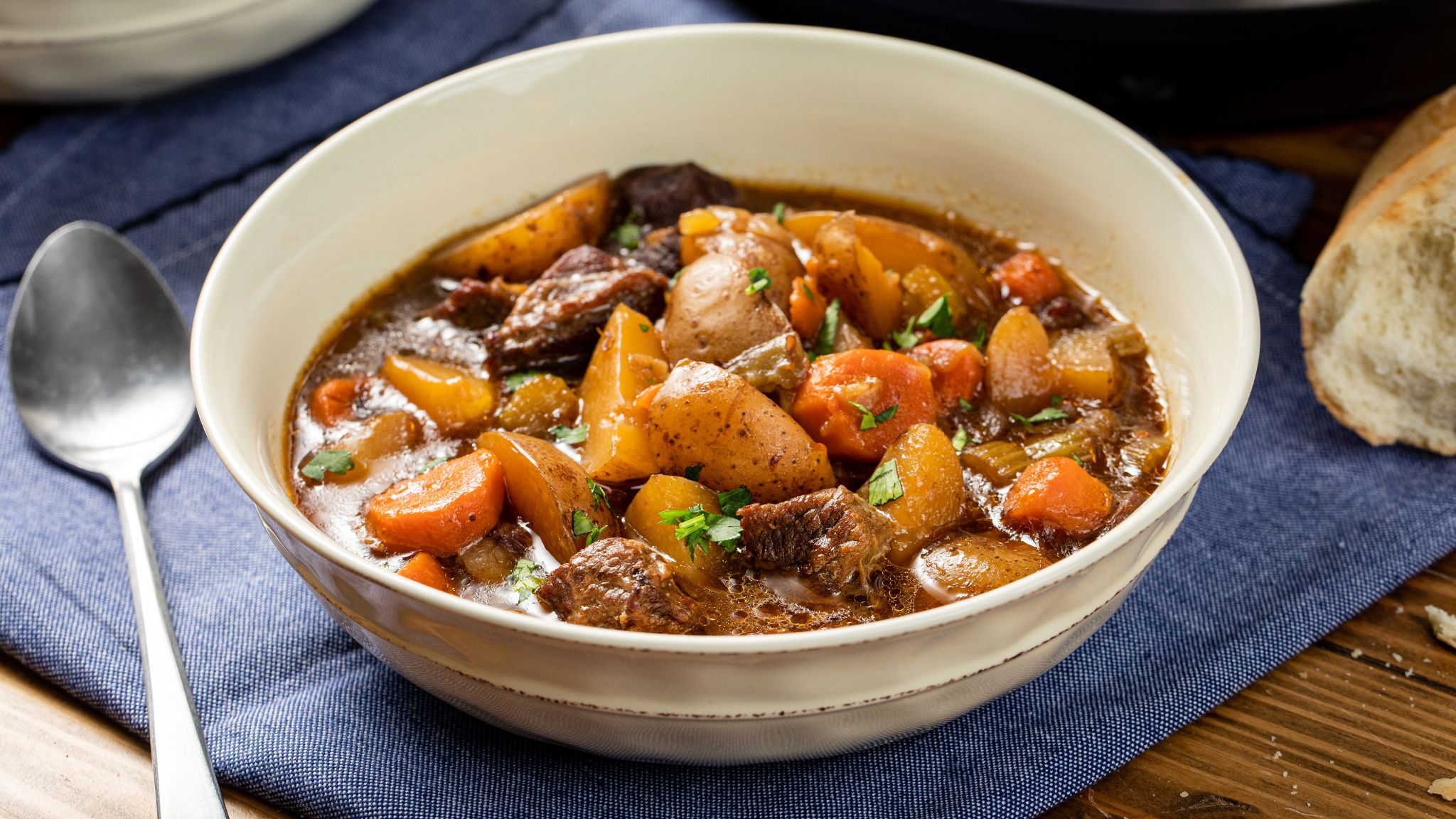 Slow Cookers Hearty Beef Stew Mccormick