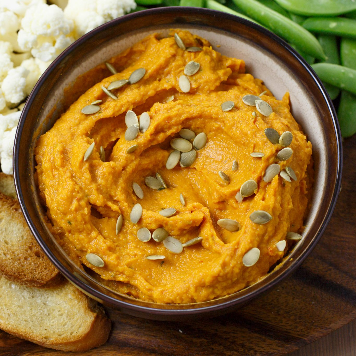 Chili Pumpkin Hummus