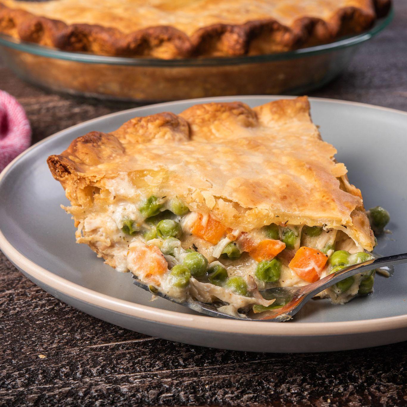 ONE Casserole Rotisserie Chicken Pot Pie