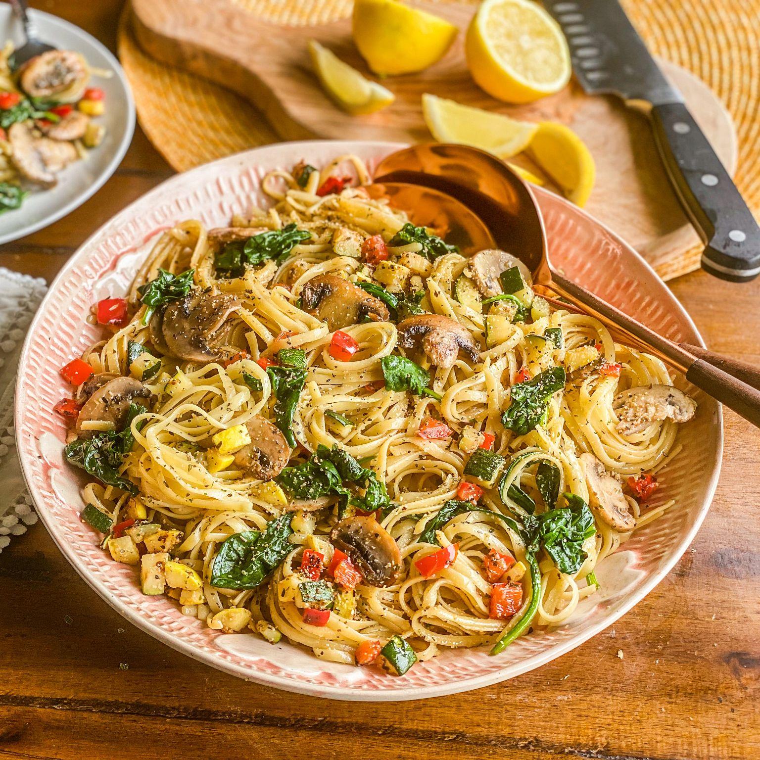 Garlic Lovers Mushroom Pasta