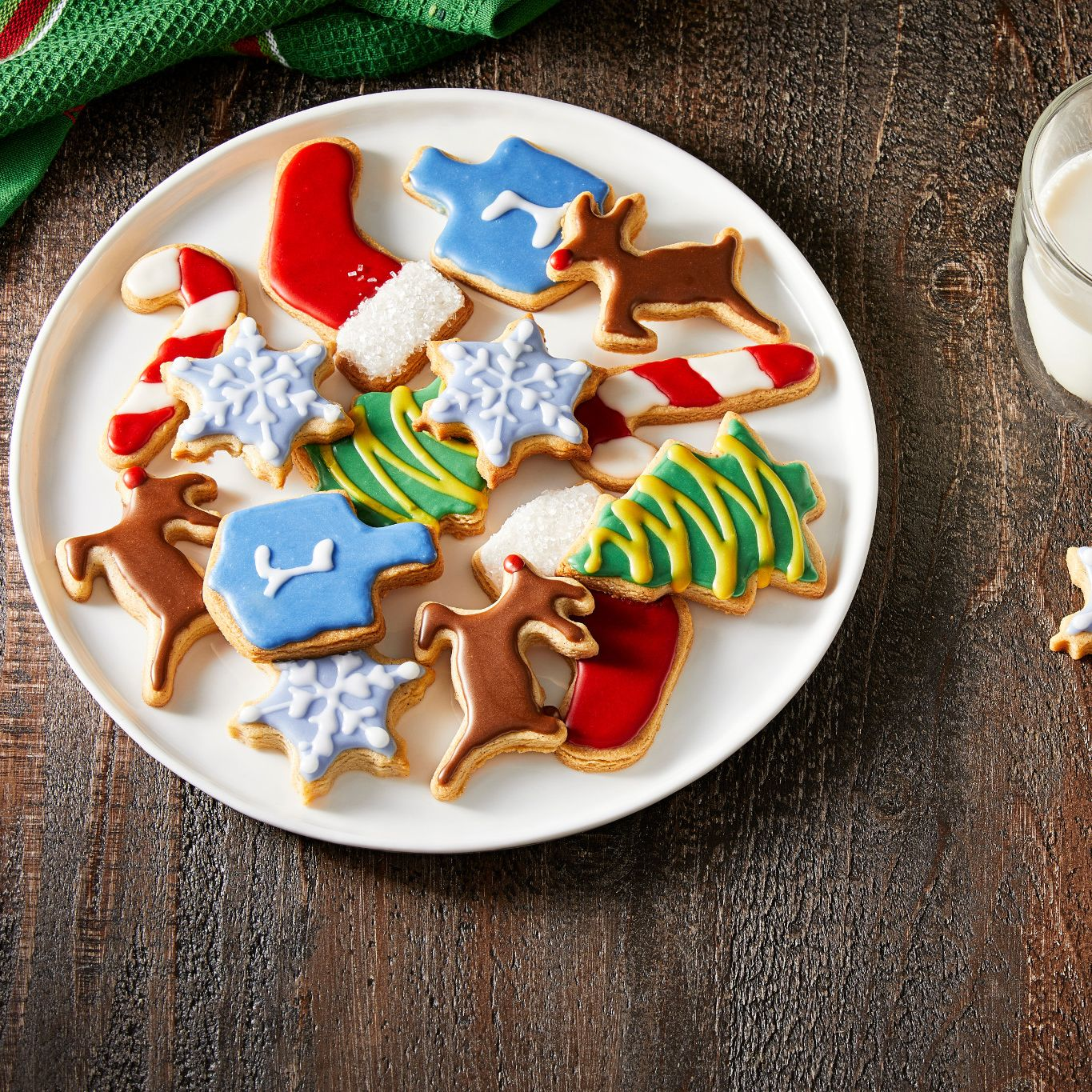 Spiced Holiday Sugar Cookies