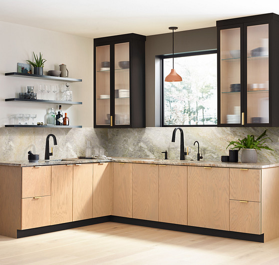 Choose green materials to design your kitchen