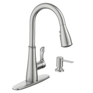 Hadley Spot Resist Stainless One-Handle Pulldown Kitchen Faucet
