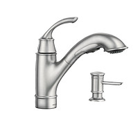 Marietta Spot Resist Stainless One-Handle Pullout Kitchen Faucet