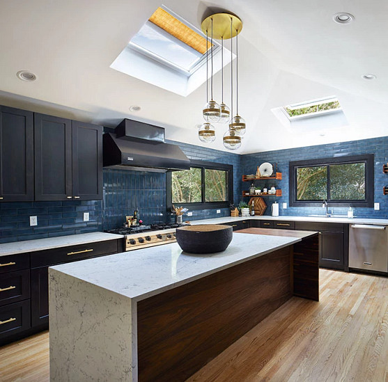 Use a solar thermal skylight to heat your home's water