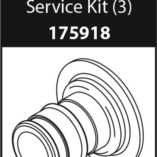 Commercial Parts & Accessories PEX Adapter Service Kit (Package of 3)