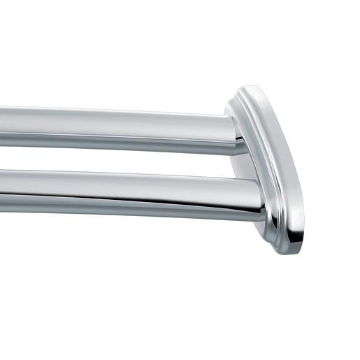 Curved Shower Rods Chrome Adjustable Curved Shower Rod