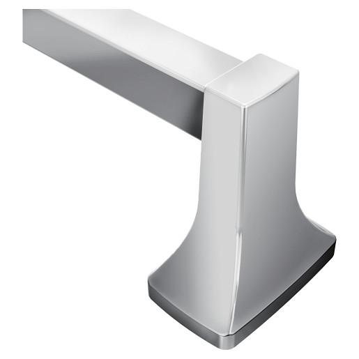 """Contemporary Chrome 24"""" Towel Bar"""