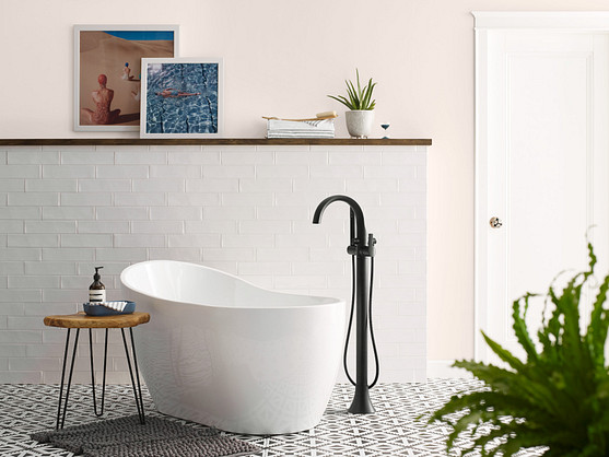 Doux Tub Filler Matte Black