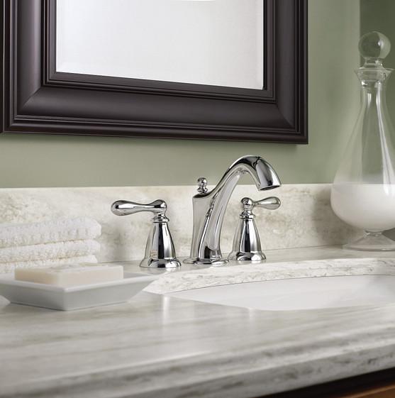 Caldwell Chrome Widespread Bath Faucet