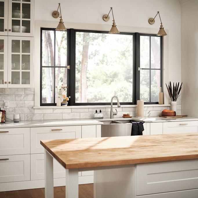 Kitchen with Essie Faucet