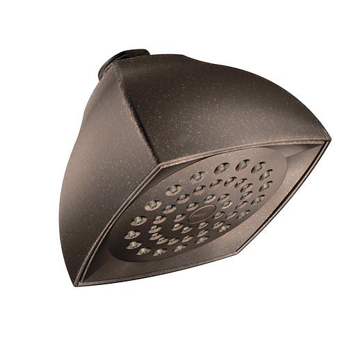 "Moen Oil Rubbed Bronze One-Function 4 1/16"" Diameter Spray Head Eco-Performance Showerhead"