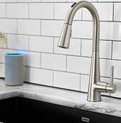 U by Moen Smart Faucet Close Up
