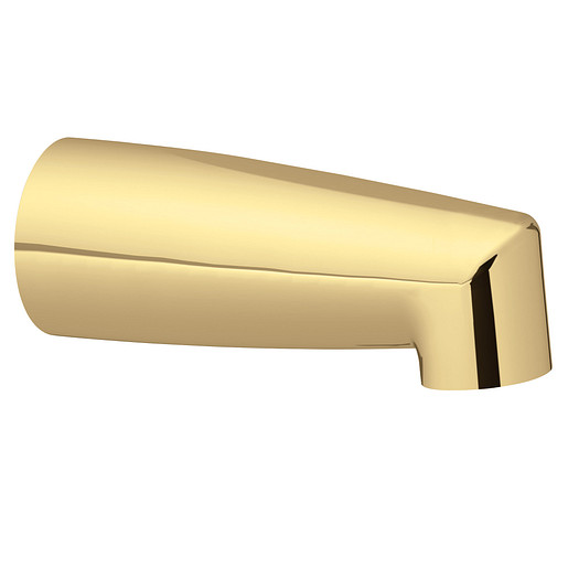 Moen Polished brass nondiverter spouts