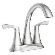 Korek™ Two-Handle Centerset Bathroom Faucet Chrome