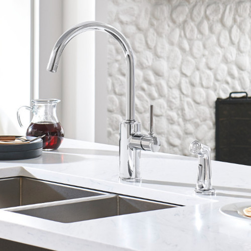 Browse Two-Hole Kitchen Faucets