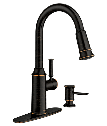 Glenshire Mediterranean Bronze High Arc Kitchen Faucet 87731BRB