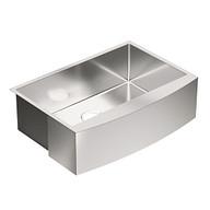 "1800 Series Stainless steel 30"" X 21"" 18 Gauge Single Bowl Sink Center Drain"
