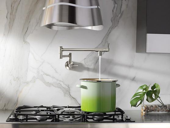 Customers will love the Modern Pot Filler