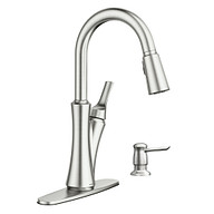 Benson Spot Resist Stainless One-Handle High Arc Pulldown Kitchen Faucet