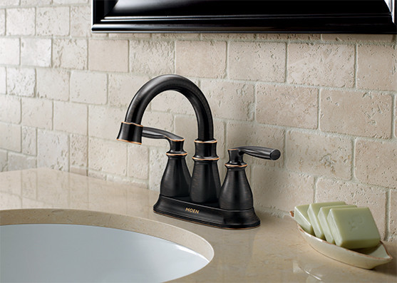 Center Set Faucet Bathroom Install