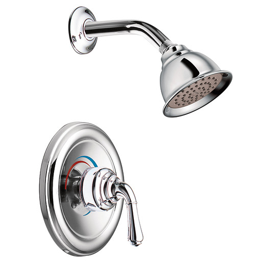 Monticello Chrome standard shower only