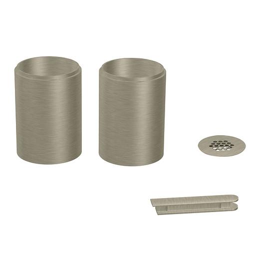 Moen Brushed nickel Extension Kits