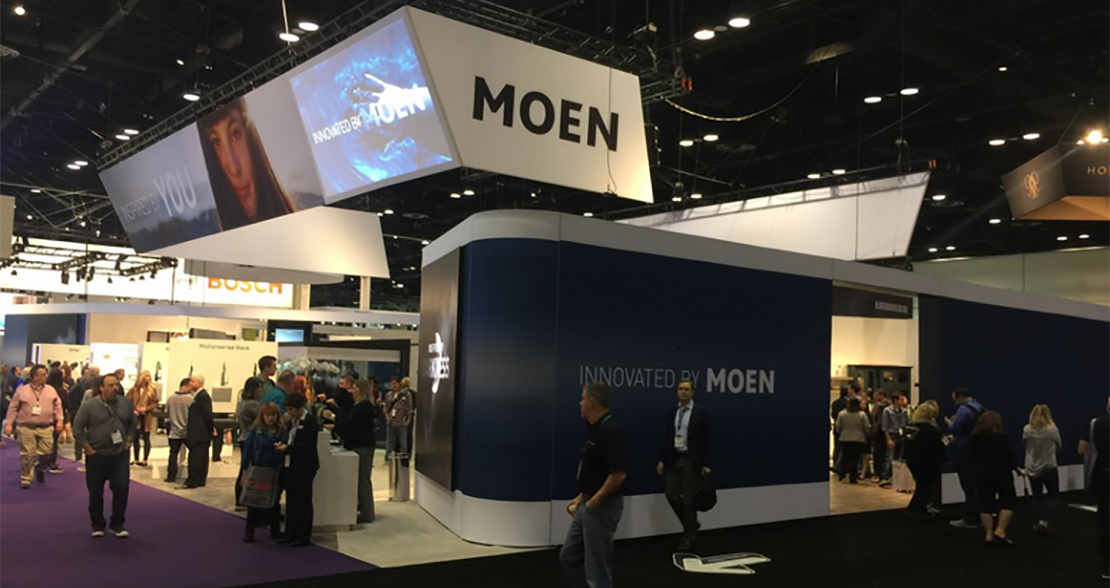 Schedule a Booth Tour with Moen at KBIS 2019 Booth N2605