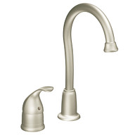 Camerist Classic stainless one-handle high arc bar faucet