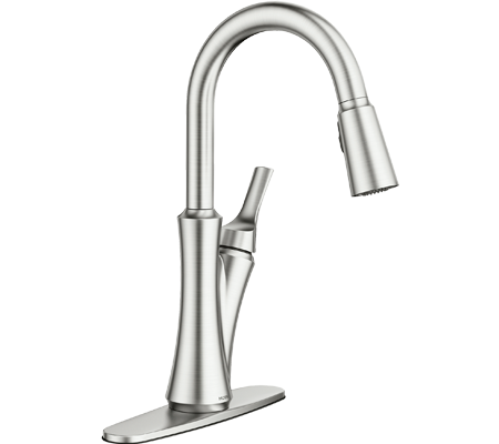 Browse Moen's Spot Resist Stainless Kitchen Faucets