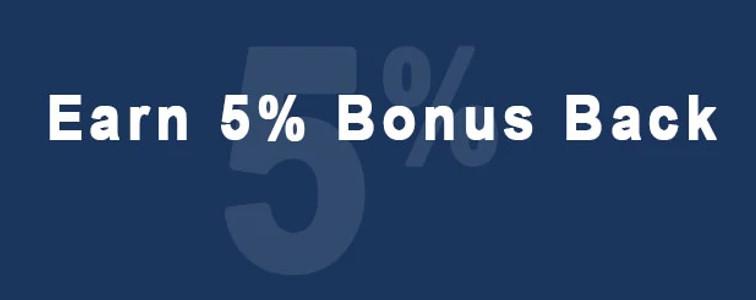 5% Bonus Image