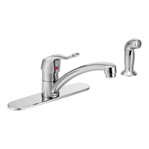M-DURA Chrome one-handle kitchen faucet