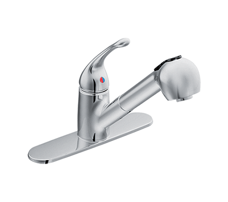 Chrome Kitchen Faucet