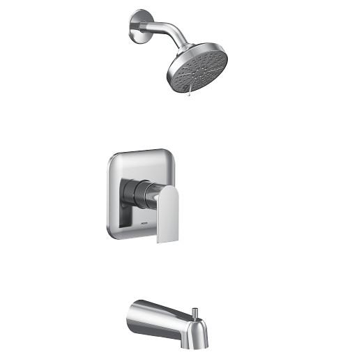 Genta LX Chrome M-CORE 4 Port Tub/Shower