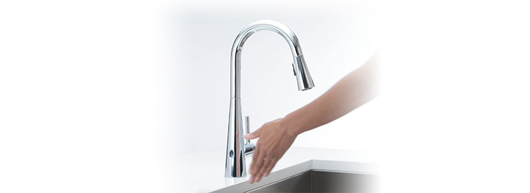 Moen MotionSense Wave Touchless Faucets