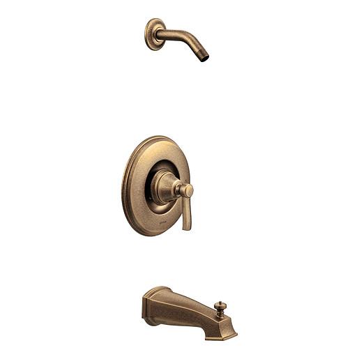 Rothbury Antique bronze Posi-Temp® tub/shower
