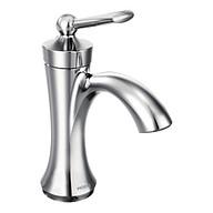 Wynford Chrome One-Handle High Arc Bathroom Faucet