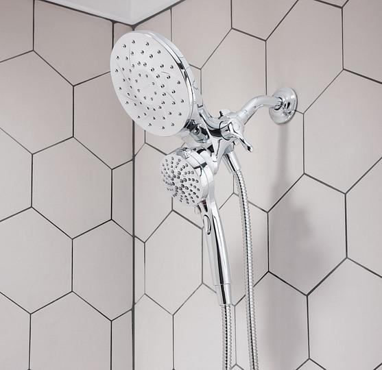 Transformez votre douche avec une pomme de douche à main ou jet de pluie