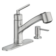 Shaye Spot Resist Stainless One-Handle Kitchen Faucet