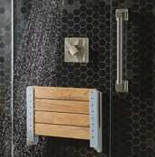 Home Care Collection Shower Seat Closed
