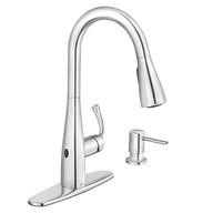 Essie Chrome One-Handle Pulldown Kitchen Faucet