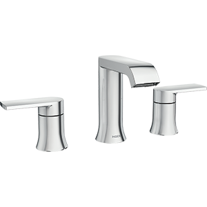 Genta 2-Handle Bathroom Faucet In Chrome