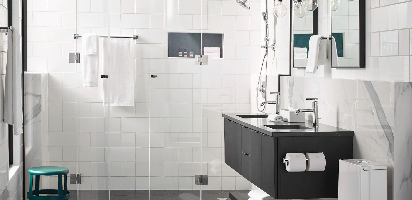 Bathroomrenovationis the perfect place to show off your unique design aesthetic
