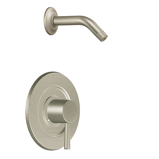 Level Brushed nickel Posi-Temp® shower only