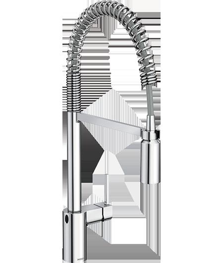 Align MotionSense Wave Chrome Pulldown Kitchen Faucet
