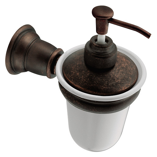 Kingsley Oil rubbed bronze soap/lotion dispensers