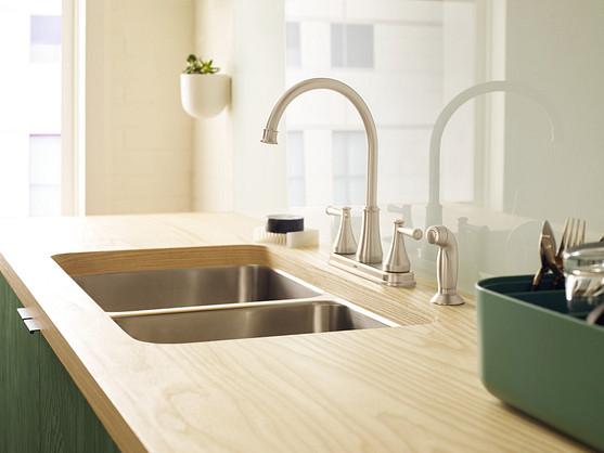 Single bowl or double bowl kitchen sinks