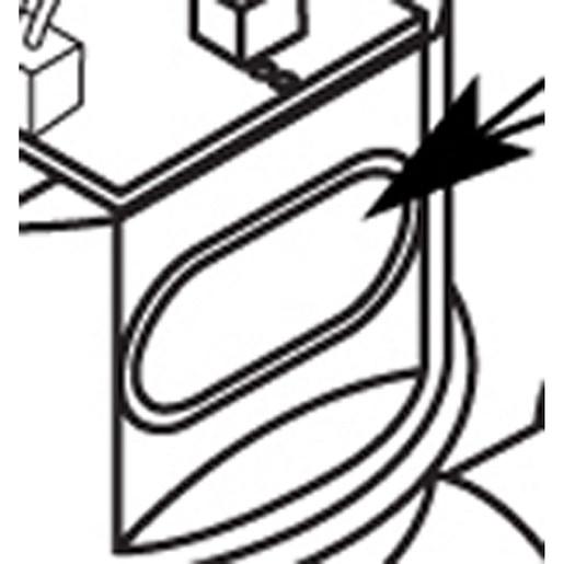 Commercial Sensor eye/wires for flush valve